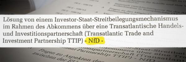 TTIP nur für den Dienstgebrauch