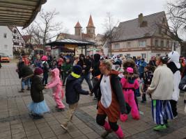 Buntes Faschingstreiben in Büchenbach