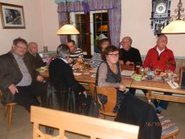 Zuhörende Genossinnen und Genossen der Büchenbacher SPD