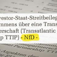 TTIP nur für Dienstgebrauch
