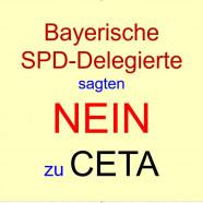 Bayerische Delegierte sagten NEIN zu CETA