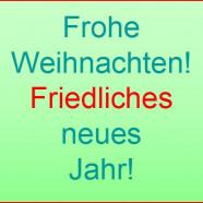 Weihnachts- und Neujahrswünsche der SPD Büchenbach