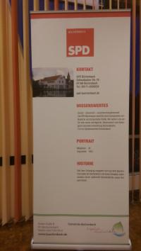 SPD Büchenbach, Informationswand