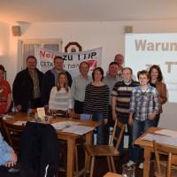 Besuch von Büchenbacher Sozialdemokraten bei der SPD Altdorf