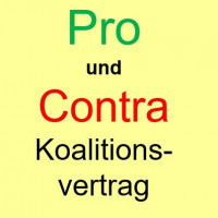 Pro und Contra Koalitionsvertrag