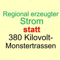 SPD Büchenbach für regional erzeugten Strom statt über 380kV-Stromtrassen
