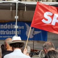 Ostermarsch in Nürnberg und Abrüstungsforderungen der SPD