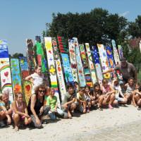 Kunstwerke beim Ferienprogramm der SPD Büchenbach geschaffen