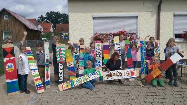 Ferienprogramm: Aus Brettern werden Kunstwerke