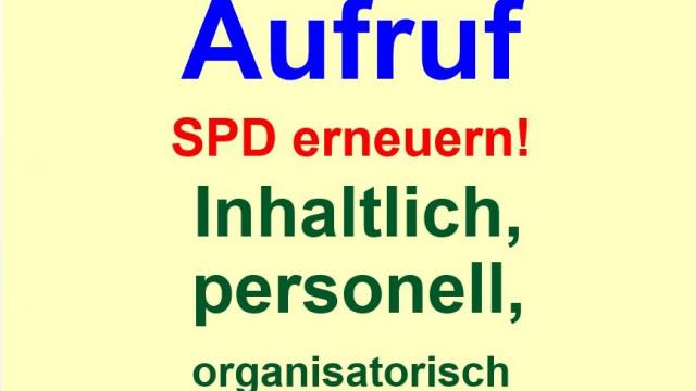 SPD erneuern! Inhaltlich, personell, organisatorisch