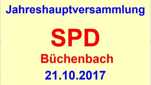 Jahreshauptversammlung der SPD Büchenbach mit Weißwurstfrühstück