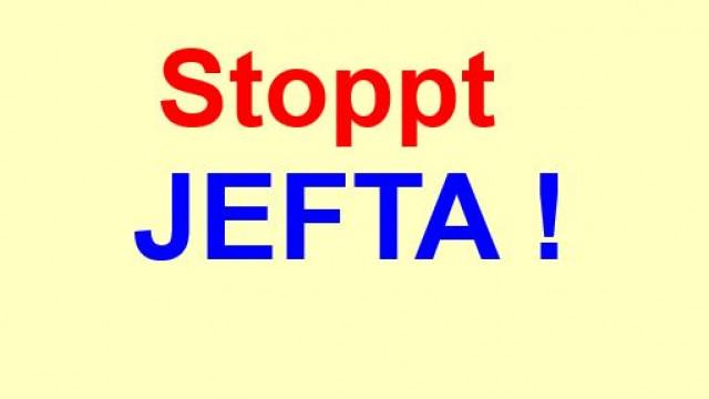 NEIN zum Freihandelsabkommen JEFTA, Japan-EU !